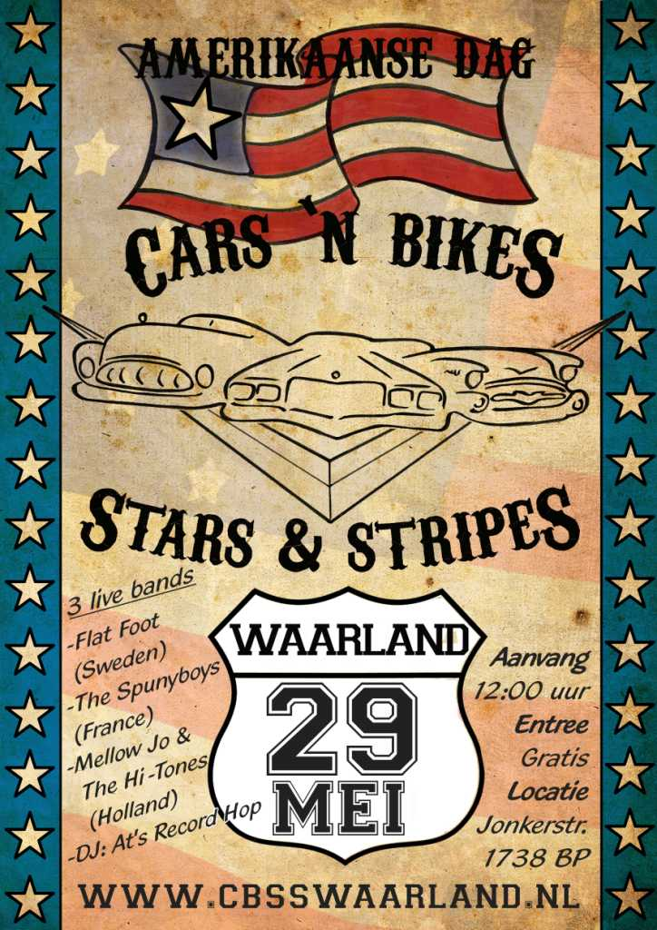 de Keet op Cars Bikes Stars Stripes